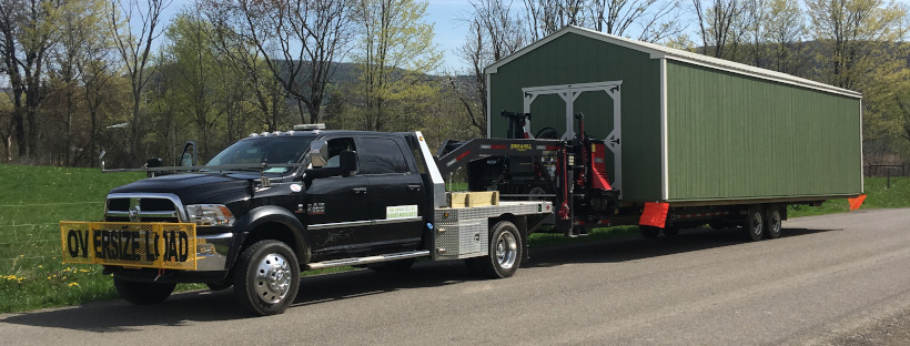 We Deliver and Move Sheds!